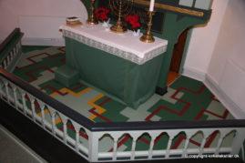 Altertæppe, Finderup kirke