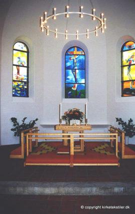 Altertæppe og knæfald, Vanløse kirke