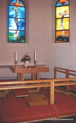 Knæfald og altertæppe, Vanløse kirke