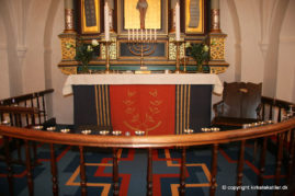 Altertæppe, antependium og alterdug, Ferslev kirke
