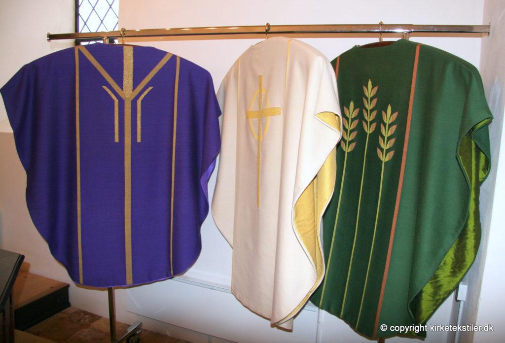 Messehagler i Thorsø kirke